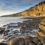 Nash Point on the Glamorgan Heritage Coast, South Wales, UK. Summer (August) Photographic Print by Adam Burton