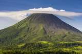 Arenal Volcano Photographic Print by Nick Ledger