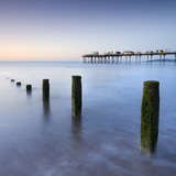 Teignmouth Pier and Coastal Defences at Teignmouth, South Devon, England. Summer Photographic Print by Adam Burton