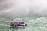 Hornblower Sightseeeing Boat at Horseshoe Falls, Niagara Falls Photographic Print by Jane Sweeney