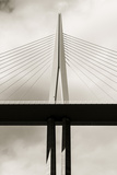 Le Viaduc De Millau, Millau Viaduct, Tallest Bridge in the World Photographic Print by Karl Thomas