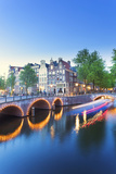 Netherlands, North Holland, Amsterdam. Keizersgracht the Canal Photographic Print by Francesco Iacobelli