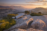 View Towards Half Dome at Sunset Photographic Print by Adam Burton