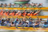 Dragon Boat Race, Shau Kei Wan, Hong Kong Island, Hong Kong Photographic Print by Ian Trower
