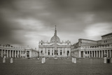 Italy, Lazio, Rome, St. Peters Square, St. Peter's Basilica Photographic Print by Jane Sweeney