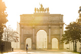 Tuileries Garden Arch, Tuileries Gardens, Paris, France Fotografie-Druck von Peter Adams