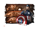 The Avengers: Age of Ultron - Captain America, Iron Man, Hulk, & Thor Art