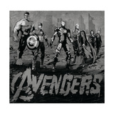 The Avengers: Age of Ultron - Iron Man, Thor, Hulk, Captain America, Hawkeye, Black Widow Posters