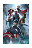 The Avengers: Age of Ultron - Captain America, Black Widow, Hulk, Hawkeye, Vision, Iron Man, Thor Prints