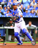Salvador Perez 2015 Action Photo