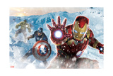 The Avengers: Age of Ultron - Iron Man, Captain America, and Hulk Art