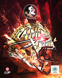 Florida State University Seminoles Helmet Composite Photo
