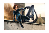 The Avengers: Age of Ultron - Black Widow Art