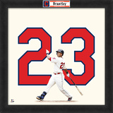Michael Brantley, Indians Framed photographic representation of the player's jersey Framed Memorabilia