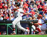 Mookie Betts 2015 Action Photo