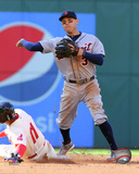 Ian Kinsler 2015 Action Photo