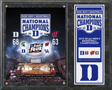 Duke Blue Devils 2015 NCAA Men's College Basketball National Champions Composite Plaque Framed Memorabilia