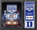 Duke Blue Devils 2015 NCAA Men's College Basketball National Champions Composite Plaque Framed Memorabilia