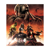 The Avengers: Age of Ultron - Captain America, Hulk, Iron Man, Black Widow, Vision, Hawkeye, Thor Affiches