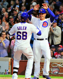 Jorge Soler & Anthony Rizzo 2015 Action Photo