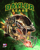 Baylor University Bears Helmet Composite Photo