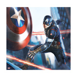 The Avengers: Age of Ultron - Captain America Throwing his Shield Posters