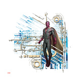 Vision from The Avengers: Age of Ultron Prints