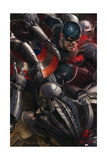 The Avengers: Age of Ultron - Captain America Affiche