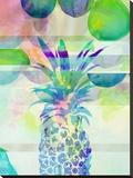 Pineapple Blue, Urban Road Reproducción en lienzo de la lámina