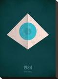 1984 Impressão em tela esticada por Christian Jackson