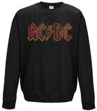 Crewneck Sweatshirt: AC/DC - Multicolour Logo Skjortor