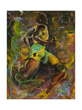 Lightning Bolt Wydruk giclee autor Ikahl Beckford
