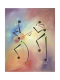 Flutina Giclee Print by Ikahl Beckford