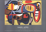 Untitled Posters by Karel Appel