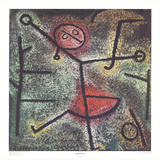 Dancing Girl Collectable Print by Paul Klee