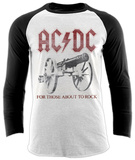 Raglan Sleeve: AC/DC - Rock Canon Vêtements