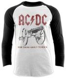 Raglan Sleeve: AC/DC - Rock Canon - Tişört