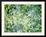 Peas in Water Framed Photographic Print