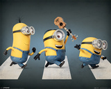 Minions - Abbey Road Kunstdruck