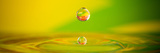 Colorful Water Drop Photographic Print by Alexey Rumyantsev