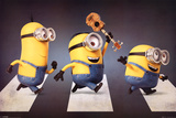 Minions - Abbey Road Affiches