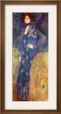 Emilie Floege Framed Giclee Print by Gustav Klimt
