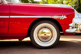 Classic Car Wheel Photographic Print by  determined