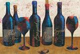 Wine Splash Light I Prints by Jim Wellington