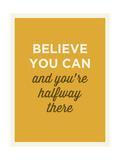 Believe Giclee Print