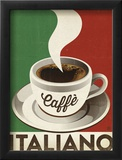 Cafe Italiano Print by  Anderson Design Group
