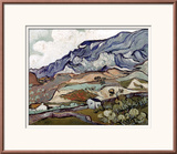 Van Gogh: Landscape, 1890 Art by Vincent van Gogh