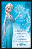 Frozen - Lyrics Prints