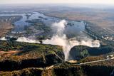 Victoria Falls Fotografisk tryk af  demerzel21