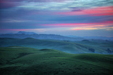 Lovely Morning in the the Coastal Hills, Northern California Photographic Print